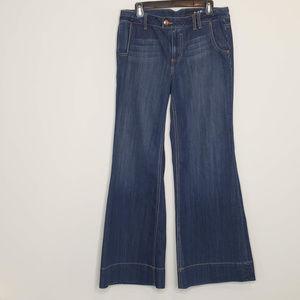 Seven7 wide leg jeans 31.5 in inseam